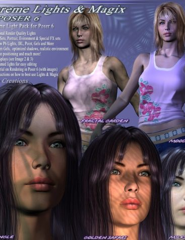 Supreme Lights and Magix for Poser 6