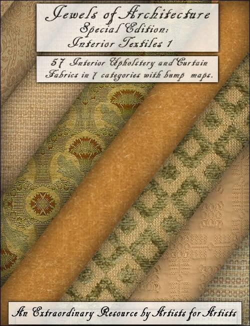 Jewels of Architecture SE: Interior Textiles