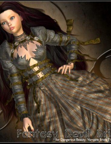 ?Fantasy Devil Bride? for Dangerous Beauty: Vampire Bride 7 for Aiko 3 & V4