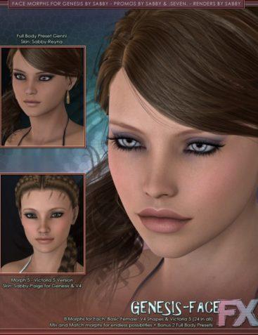Genesis Faces by Sabby
