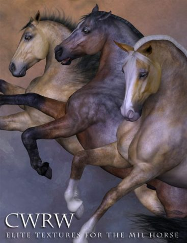 CWRW Pro Textures for the Mil Horse Bundle
