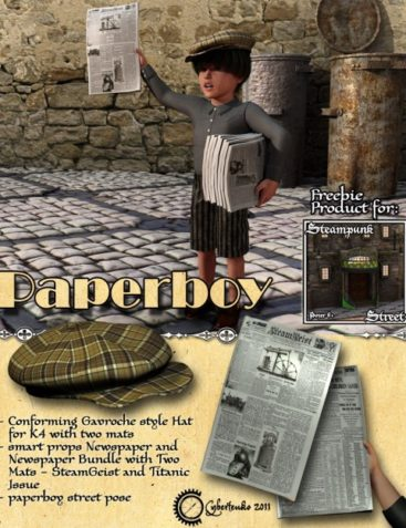 Paperboy Addon for Steampunk Streets