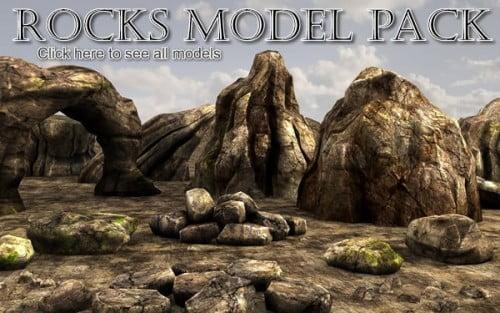 Rocks model pack by Martin Teichmann