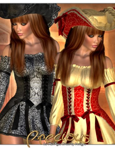 ?Precious? Textures for Middle Ages Dress by Hongyu