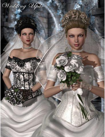 Wedding UpDo Hair V4/A4/G4/S4/A2 & Anastasia