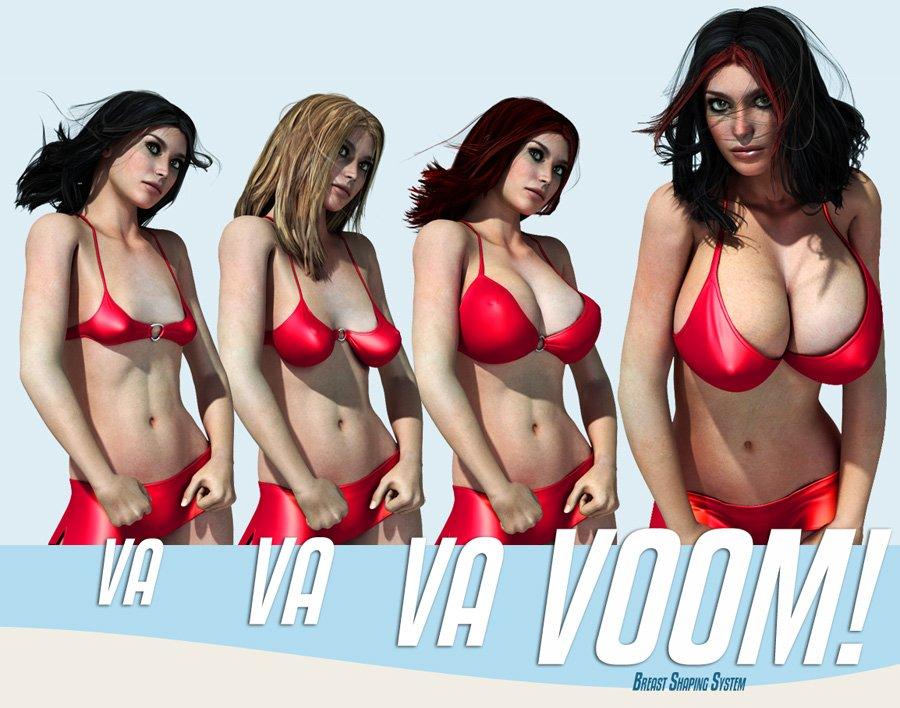 VaVaVaVoom – V4 Breast Shaping System