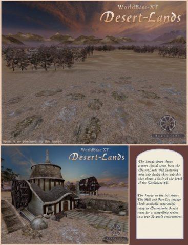 Desertlands Pak for WorldBase XT