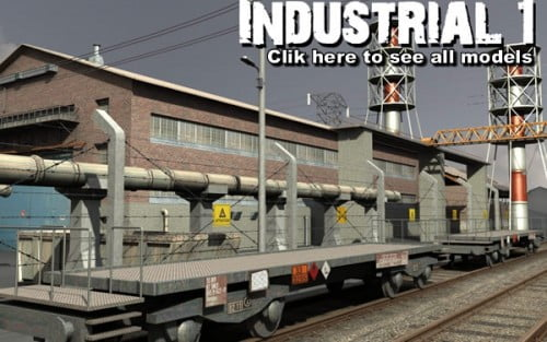 Industrial 1. model pack by DEXSOFT-GAMES