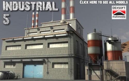 Industrial 5. model pack by DEXSOFT-GAMES