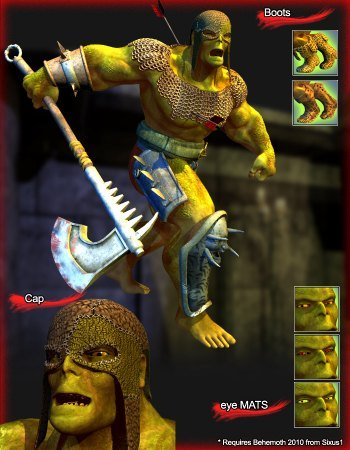 Orc Warrior for the Behemoth 2010
