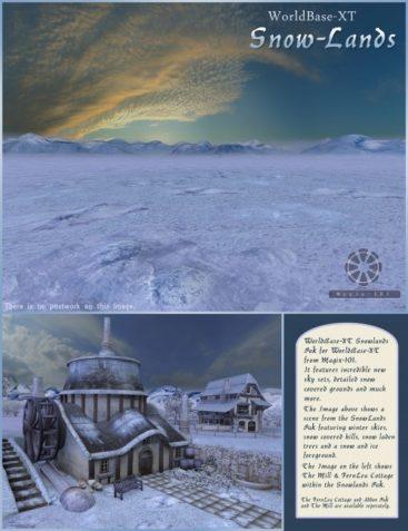 Snowlands Pak for WorldBase XT