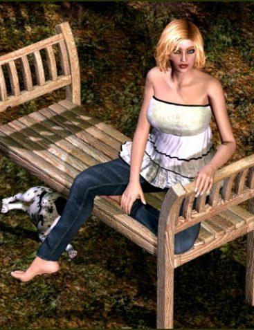 Garden Escape - Bench