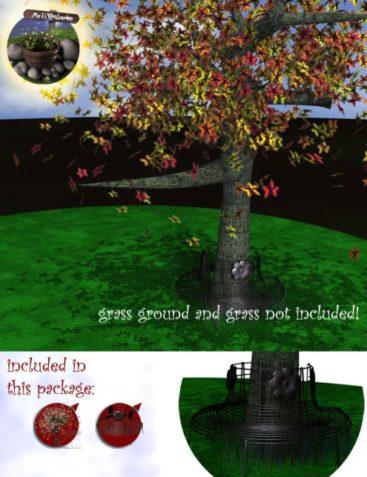 My Little Garden - Tree N Bench