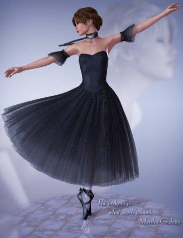 The Art of Dance - Ballet V4 - Performance Romance Tutu