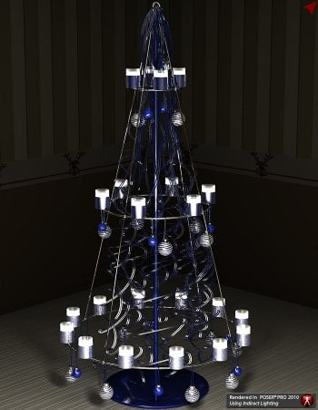 XMas Fever - New Styles 1 for Metal Cone Tree