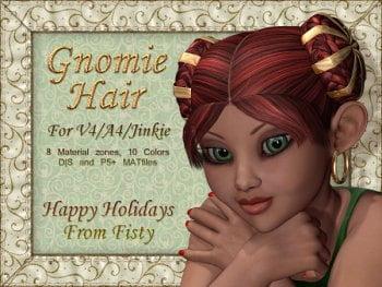 Gnomie Buns Hair