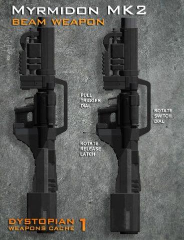 Dystopian Weapon Cache 1