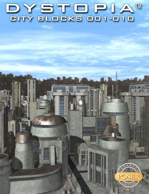 Dystopia City Blocks Complete Collection