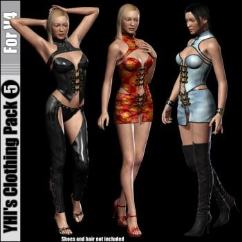 YHI's Clothing Pack 5 For V4