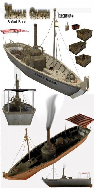 Jungle Queen Safari Boat