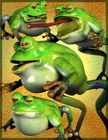 Toonimal Frog