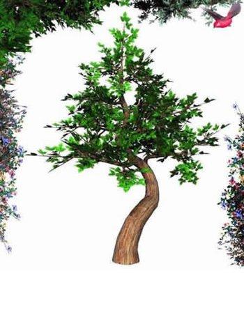 Poseable Bonsai Tree