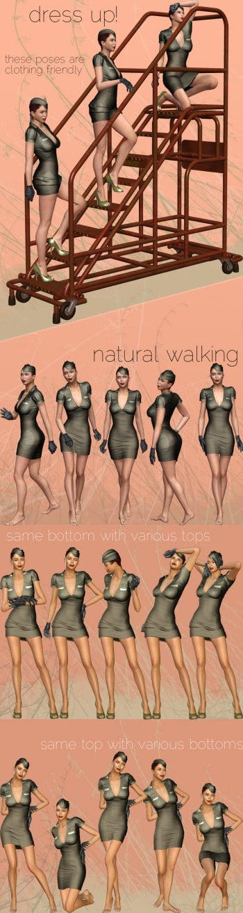 Natural Pose Collection