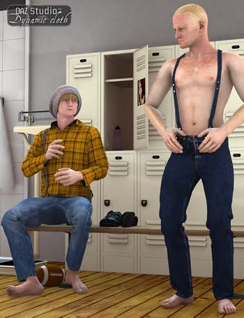 Dynamic M4 Jeans Suspenders