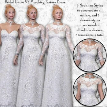 Bridal Dress Design Kit for V3