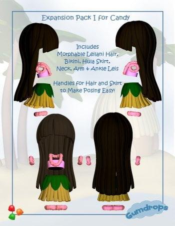 Gumdrops: Leilani the Hula Girl