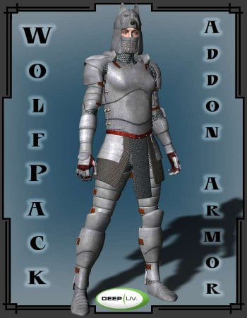 Wolf Pack for Fantasy M3 Armor