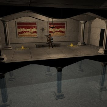Megalithic Rooms Set1 - The Bull Kings Throne