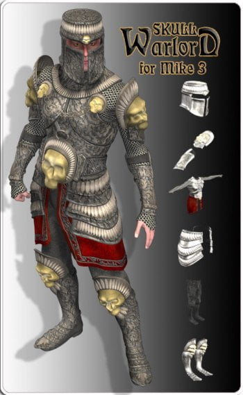 Skull Warlord Armor for M3