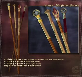 G-Rom's Magician Staves