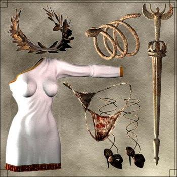 Athena Knights (World Goddesses-Greek) - Revised