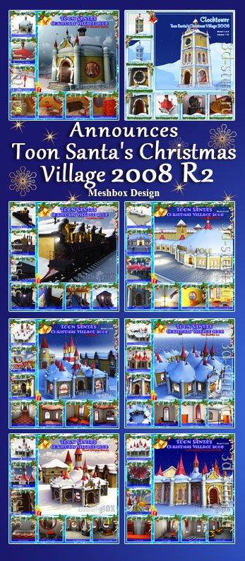 Toon Santa's Christmas Village 2008 R2