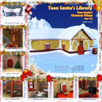 Toon Santa's Christmas Library R2