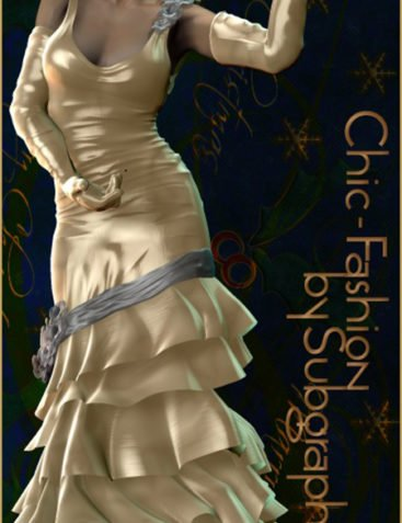 Chic-Fashion for Vendome Dress by Powerage