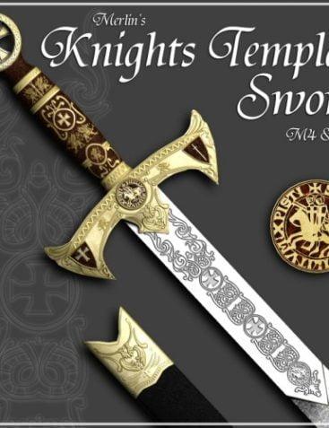 Merlin's Knights Templar Sword