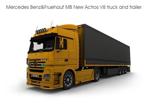 Mercedes Benz & Fruehauf