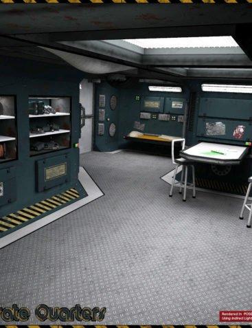 Ship Elements A4 - Private Quarters
