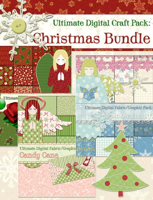 Ultimate Digital Craft Pack: Christmas BUNDLE
