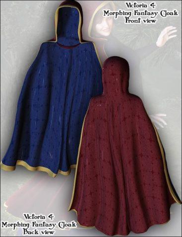 V4 Hooded Cloak