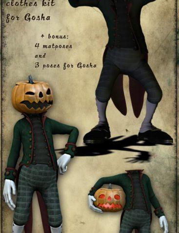 Mr Pumpkin for Gosha