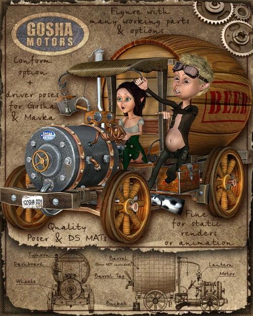 Gosha Motors:Beermobile