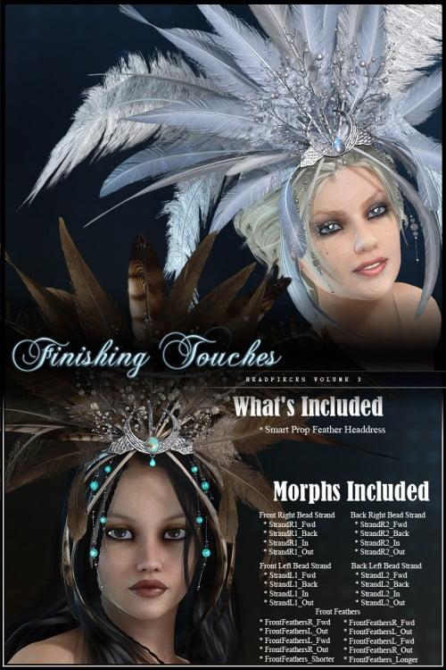 Finishing Touches: Headpieces Volume 3
