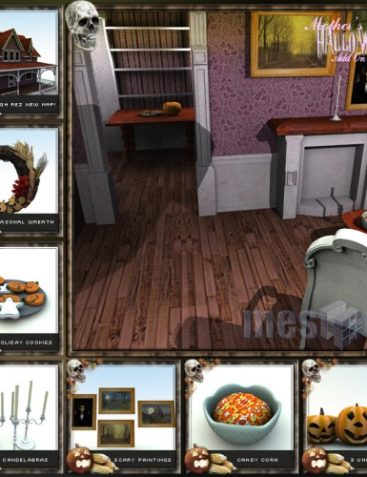 Mother's House Pack 2 - Halloween Add-On Pack