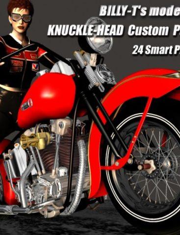 KNUCKLE-HEAD Custom Parts