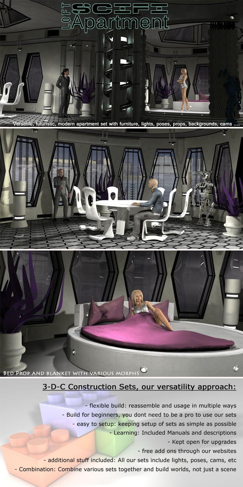 SciFi Loft Apartment