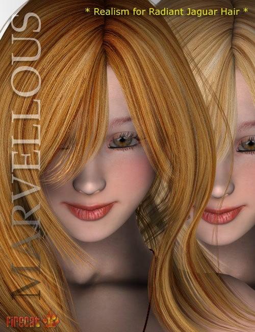 Marvelous Realism for Radiant Jaguar Hair